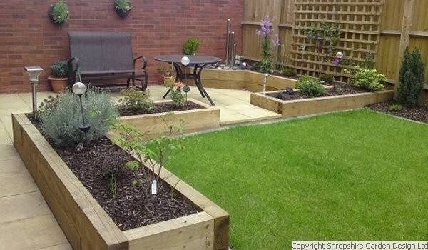 Shropshire garden design ltd for Garden makeover