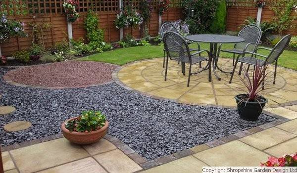 The low maintenance garden makeover inspiration interior for Small low maintenance gardens