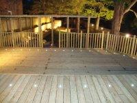Woodland decking area in Shrewsbury