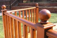Timber balustrade
