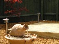 Telford timber decking at new build