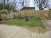 Shewsbury timber decking