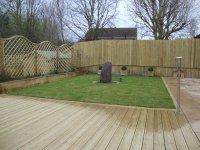 Shewsbury timber decking
