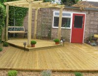 Shrewsbury decking