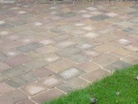 Patio setts