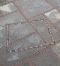 Mid range shropshire patio slab