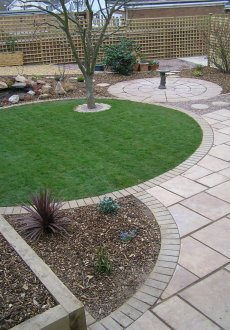 shropshire low maintenance garden landscaping