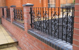 wrought iron gates railings gazebos - Wall Railings Designs