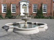 loppington hall fountain