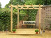 small pergola shrewsbury