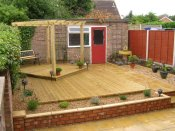 shrewsbury decking landscaping