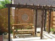 shrewsbury timber pergola