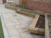 gardens for barn conversion
