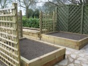 shropshire garden vegetable beds