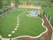 low maintenance garden shropshire
