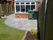 shropshire low maintenance garden makeover