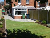 shrewsbury low maintenance garden makeover