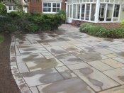 shropshire natural sandstone paving