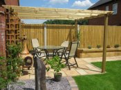 shropshire timber gazebo
