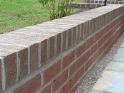 telford brick retaining wall