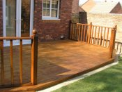 telford timber decking