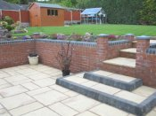 telford garden low maintenance