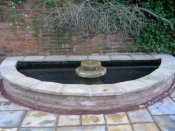 sandstone water feature