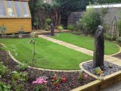 water feature slate monolith telford