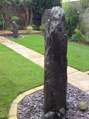 Water Feature Slate Monolith Telford 2 Large.