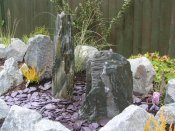 water feature slate monoliths shropshire