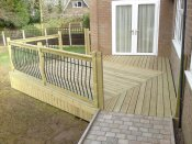 wheelchair decking