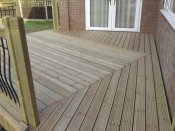 wheelchair access decking