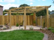 whitchurch timber pergola